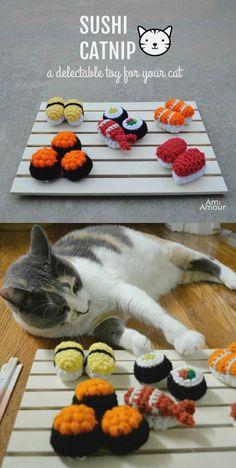 Mesmerizing Crochet an Amigurumi Rabbit Ideas. Lovely Crochet an Amigurumi Rabbit Ideas. Crochet Cat Toys, Crochet Cat Pattern, Crochet Diy, Crochet Amigurumi Free Patterns, Crochet Food, Crochet Stitches Patterns, Crochet Crafts, Crochet Dolls, Crochet Projects