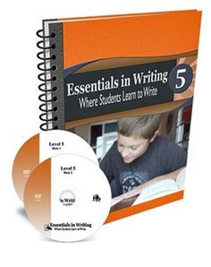 All Essentials in Writing courses include an instructional video and a textbook/workbook. Essentials in Writing is a complete grammar and composition curriculum for students in grades Writing Curriculum, Writing Lessons, Homeschool Curriculum, Homeschooling, Writing Plan, In Writing, Learning To Write, Student Learning, Fifth Grade Writing