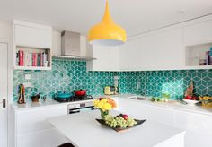 Check Out 15 Stunning Tile Design Ideas Just In Time for National Tile Day - https://freshome.com/tile-design-ideas/
