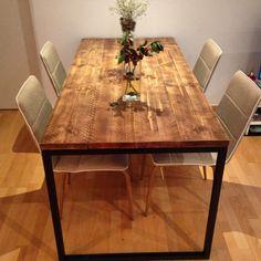mesa-industrial-vintahe-atelier Muebles Restaurados Vintage y a Medida