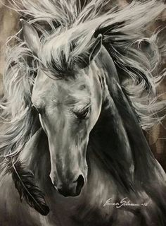 Horse ~ so realistic. Horse ~ so realistic. Art Painting, Animal Art, Animal Drawings, Horse Artwork, Fantastic Art, Animal Paintings, Charcoal Art