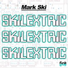 Gimmie That Beat: Mark Ski - Skilextric...Mark Ski follows up last year's critically acclaimed 'Play-Dioh' release with 'Skilextric' - a brand new beat tape executive produced by J57,combining classic era sample production and synth heavy riffs. Skilextric takes you on a journey of heavy instrumental beats, embracing elements of early Electro, 90's Hip-Hop, & Turntablism, with a respectful nod to the contemporary electronic beat scene.