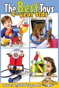 The Best Toys, Games and Gifts on the Planet for 4 Year Olds!