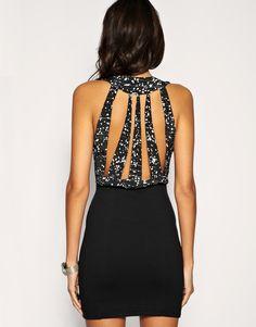 sparkles. amazing back.