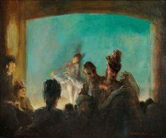 Paris Theater - Everett Shinn http://www.skinnerinc.com/news/event/fine-art-gallery-walk-3/