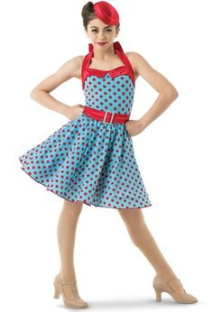 Weissman® | Polka Dot Halter Dress