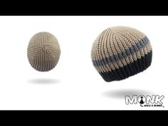 Mütze häkeln - Stripes Beanie - bosnisch häkeln - YouTube