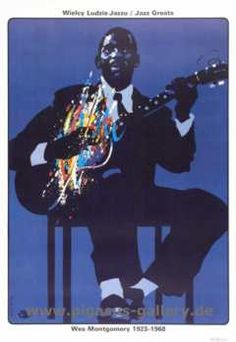 Wes Montgomery      Jazz Poster