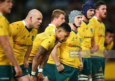 Wallabies - down under and out... But they will bounce back! come on!
