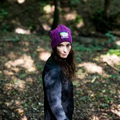 Beanie cap with sew-on badge. Fall-winter 2016–2017. #beanie Szaleo.pl | Be new fashioned & accessorized!