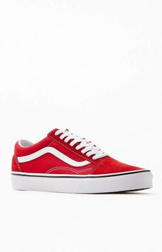 Buy Vans Classic Slip On Rumba RedTrue White Checkerboard Shoes at Europe's Sickest Skateboard Store Shoes Size Men US 6.5