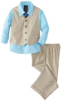 Nautica Baby-Boys Infant Solid Ticking Vest Set, Khaki, 24 Months Nautica,http://www.amazon.com/dp/B00HHTOU5I/ref=cm_sw_r_pi_dp_K.QBtb05AT371FYF