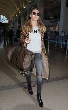 Heidi Klum from The Big Picture: Today's Hot Photos  Ready for takeoff! The model is spotted at LAX.