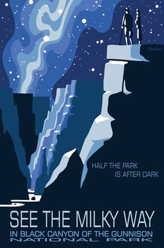 Half the park is after dark, See the Milky Way in Black Canyon of the Gunnison National Park by Tyler Nordgren