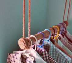 вешалка для одежды своими руками-2
