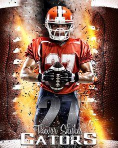 Sports poster photo template - stadium lights football   Photos ...