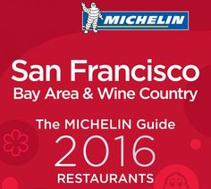 Guía Michelin San Francisco 2016