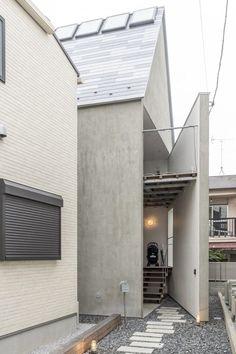 Architecture Portfolio, Architecture Details, Interior Architecture, Interior Design, Minimalist Architecture, Japanese Architecture, Japanese Modern House, Hidden Spaces, Random House