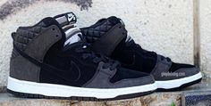 Nike SB Dunk High Quilted Leather