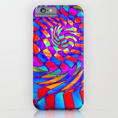Tumbler #34 Trippy Psychedelic Optical Illusion Design by CAP iPhone & iPod Case