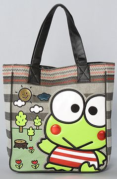 Loungefly  The Keroppi Sunny Day Tote Bag $34