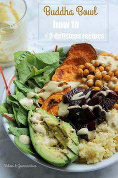 Anatomy of a Buddha Bowl   3 delicious recipes