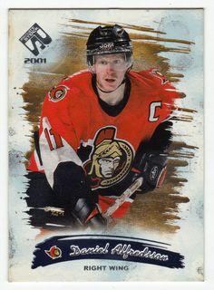 Daniel Alfredsson # 68 - 2000-01 Pacific Private Stock Hockey