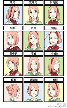 The beautiful sakura haruno-uchiha
