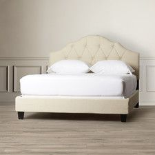 Arch Hill Queen Upholstered Panel Bed