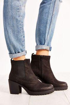 aa5a1d0da6cd Slide View  5  Vagabond Shoemakers Grace Platform Leather Ankle Boot  Vagabond Boots