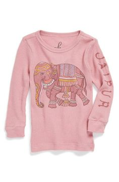 Elephant Thermal Top, I hate pink buuuut ELEPHANT!!