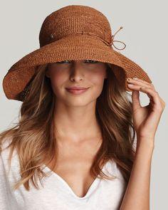 Helen Kaminski- cant wait to wear this on the beach.