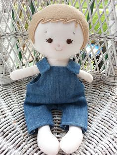 Dandelion Wishes - My friend Noah - made using the Elf Pop Boyd Doll Sewing Pattern https://www.etsy.com/uk/listing/114777238/doll-sewing-pattern-toy-cloth-boy-doll