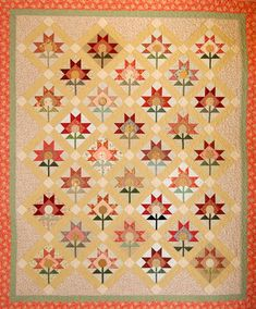 134 Best Poppy Quilts Images Quilts Flower Quilts