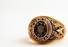 Awesome picture of an Aggie Ring.