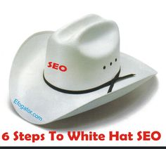 Blogging 101: 6 Attributes of White Hat SEO :http://efogator.com/blogging-101-6-attributes-of-white-hat-seo/