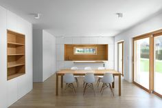 Image 1 of 21 from gallery of Folding Wall Apartment / Arhitektura d.o.o.. Photograph by Jure Goršič