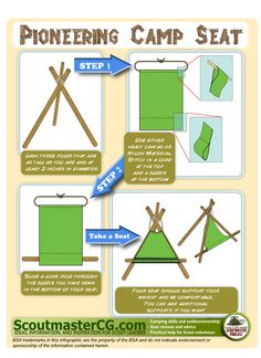 DIY Pioneering Camp Chair