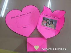 #valentinesday #heartshapeenvelope