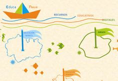 AYUDA PARA MAESTROS: Educa Nave - Recursos educativos digitales para varios niveles y materias