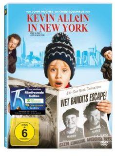 Kevin Allein in New York  1992 USA      Jetzt bei Amazon Kaufen Jetzt als Blu-ray oder DVD bei Amazon.de bestellen  IMDB Rating 6,2 (96.921)  Darsteller: Macaulay Culkin, Joe Pesci, Daniel Stern, Catherine O'Hara, John Heard,  Genre: Adventure, Comedy, Crime,  FSK: 6