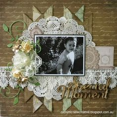 Hello everyone! Today I would like to share a layout with you that I have created using papers and elements from Kaisercraft's Heirloom . Scrapbook Blog, Scrapbook Layout Sketches, Kids Scrapbook, Vintage Scrapbook, Wedding Scrapbook, Scrapbooking Layouts, Anniversary Scrapbook, Mixed Media Scrapbooking, Craft Ideas