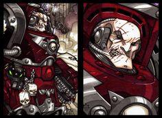 Awesome Flesh Tearer minimasterpiece.   by *Aerion-the-Faithful on deviantART