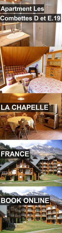 Apartment Les Combettes D et E.19 in La Chapelle, France. For more information, photos, reviews and best prices please follow the link. #France #LaChapelle #travel #vacation #apartment