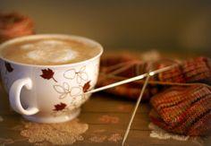 tea & knitting!
