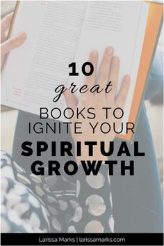 Top Spiritual Growth Books to help you grow spiritually. Faith, Christianity, Christian Formation, Jesus, Discipleship, God.