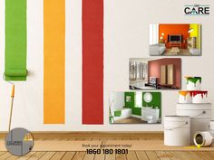 Decorate your home with world class wallpapers for stylish rooms.1860 180 1801 | http://dbc.care