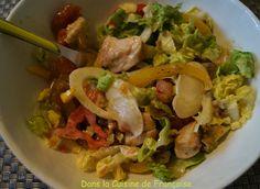Salade d'Eté au Poulet