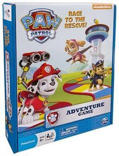 ToyHo.com - Paw Patrol Adventure Board Game