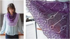 Add this gorgeous Fonse Knitted Shawlette to your fashion staples. The exquisite lace design will definitely add character to any outfit. The FREE . Cowl Scarf, Knit Cowl, Knitting Patterns Free, Free Knitting, Yarn Stash, Lace Design, Knitting Projects, Lace Shawls, Wraps